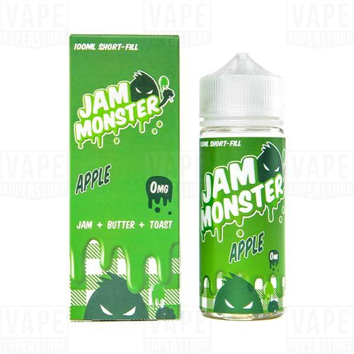 Жидкость Jam Monster USA Apple 100 / USA #1