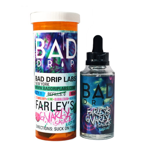 Жидкость Bad Drip Iced Farley's Gnarly 60 / USA #1