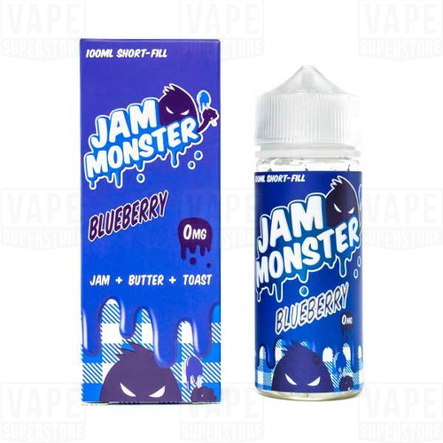 Жидкость Jam Monster USA Blueberry 100 / USA #1